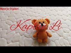 Amigurumi Kaplan Li Yapımı /Amigurumi Anahtarlık/ Çanta Süsü - YouTube Crochet Dolls, Knit Crochet, Crochet Videos, Free Pattern, Diy And Crafts, Mini, Projects To Try, Crochet Patterns, Teddy Bear