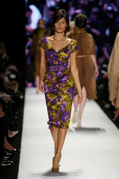 love the neckline, the sleeves, hem - michael kors fall 2008 collection
