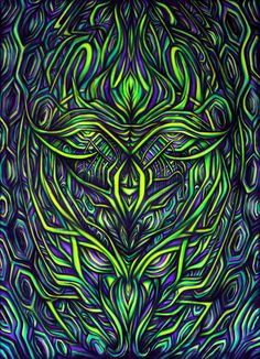 Second Cyber Entity Backdrops For Parties, Visionary Art, Trippy, Psychedelic, Surrealism, Cyber, Mystic, Art Gallery, Doodles