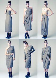 CLEOPATRA DRESS / ABITO CLEOPATRA - AMaZING NEW LEMURIA DRESS- MULTIFUCTIONAL DRESS