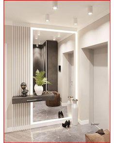 Modern Home Interior Design, Home Room Design, Modern Interiors, Interior Architecture, Entrance Hall Decor, Entrance Halls, Flur Design, Dressing Room Design, Apartment Interior