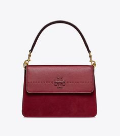 1a7a8c862d0a Visit Tory Burch to shop for Mcgraw Mixed Suede Shoulder Bag and more  Womens New Arrivals