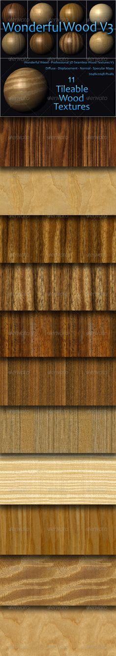 Wonderful Wood Volume Three  #GraphicRiver