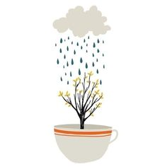 April Showers, designed by Amy Blackwell in Nottingham