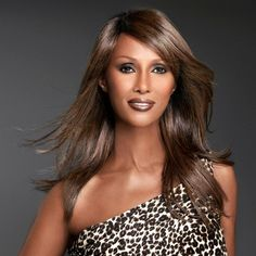 "IMAN Gorgeous Locks Collection ""Sensational Straight"" Wig"