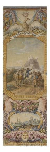 Central Fragment of a Door: Battle of Brimstone Hill Giclee Print by Jacques-Claude Cardin at AllPosters.com
