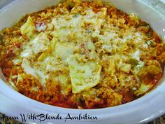 Cabbage Roll Casserole (crockpot) HEARTY AND HEALTHY!!!!