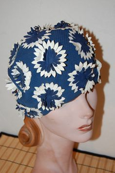 Vintage 60s Bathing Cap Swimming Cap Made In by WaikikiKitsch, $26.00