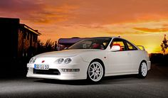 Acura/Honda Integra Type-R. (Click on photo for a slightly larger very cool image.)