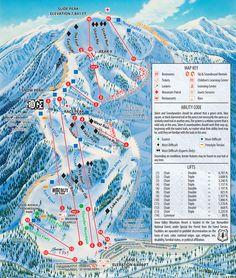 Mammoth Mountain Backside Trail Map Shred Gnar Pinterest - Mammoth mountain trail map