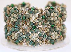 Deb Roberti's Tuscan Cuff Bracelet and Earrings Pattern