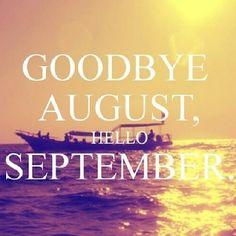 Goodbye birth month hello fall