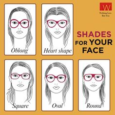 What Is The Right Glasses Frame For My Face : 1000+ images about Choosing Perfect Eyeglasses on ...