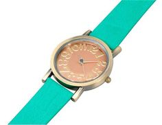 Reloj cómodo y casual.  Disponible en color verde y mostaza  Precio: S/. 30.00