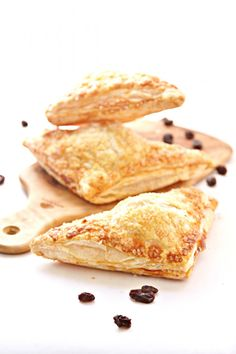 Boozy Raisin Apple Turnovers