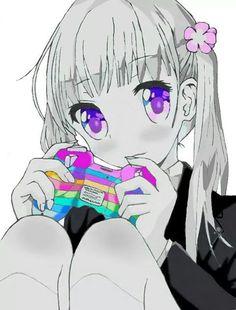 Egy lány kontrolerrel - fanart