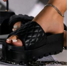 Brand Name: LYXLYHUpper Material: FlockHeel Height: High (5cm-8cm)With Platforms: NoOccasion: CasualSandal Type: Ankle-WrapHeel Type: Square heelLining Material: CanvasSide Vamp Type: OpenOutsole Material: RubberClosure Type: Buckle StrapFit: Fits true to size, take your normal sizeBack Counter Type: Back StrapFashion Beige Shoes, Womens Summer Shoes, Fashion Sandals, Luxury Shoes, Loafers For Women, Types Of Shoes, Casual Shoes, Slippers, Heels