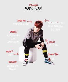 Got7 Mark Profile