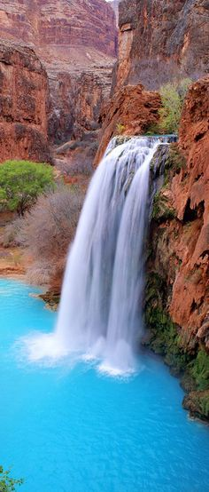 Mooney Falls, Grand Canyon, Arizona, USA