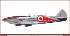 Spitfire McLaren-Mercedes Color Sheme