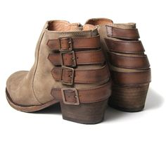 I want these sooooo bad. But also? #BeltsWithNoPurpose Women's Encke Suede Ankle Boots | H by Hudson