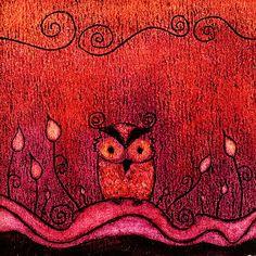 'Owl Alone' by Trishie