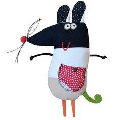 kolorowa myszka (proj. GOHA), do kupienia w DecoBazaar.com