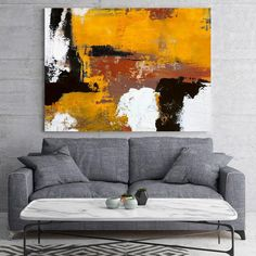 Original Burnt Orange Abstract Painting,Black White Abstract On Canvas Painting,Orange Painting,Large Wall Canvas Painting,Living Room Art Abstract Painting Easy, Easy Landscape Paintings, Orange Painting, Abstract Canvas, Oil Painting On Canvas, Abstract Oil, Miro Paintings, Your Paintings, Venus Painting