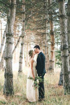 #outdoorwedding #rustic #boho #love