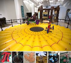Museum of Math in NYC -- the exhibits look incredible so I'll check it out
