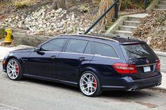 Mercedes E Class Estate, E63 Amg Wagon, Mercedes Benz E63 Amg, Merc Benz, Vw Eos, Outdoor Survival Gear, Little Red Wagon, Station Wagon, Super Cars