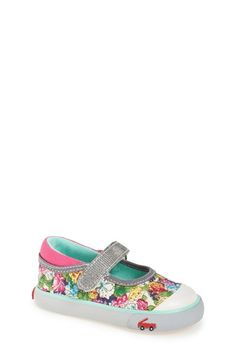 See Kai Run 'Kya' Mary Jane Sneaker (Baby, Walker & Toddler) available at #Nordstrom