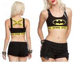 Make a Statement With This Batman Sports Bra