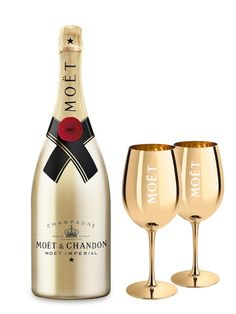 Moët Chandon Impérial Brut Go Golden Edition & 2 Gläser in Gold Set – L Moet Chandon, Moet Imperial, Gold Bottles, 40th Birthday Cakes, Coffee Photography, Journal Stickers, Gold Set, Morning Coffee, Wine