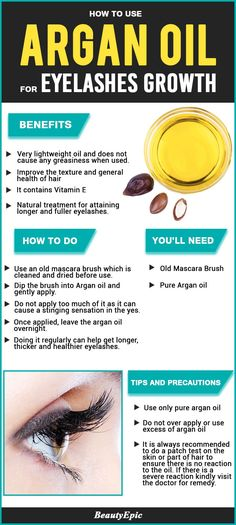 Argan Oil for Eyelashes: Natural Ways to Promote Longer Eyelashes