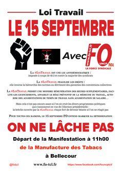 FO TCL Syndicat Libre et Indépendant  Le 15 septembre LA #LOITRAVAIL EST UNE LOI ANTIDÉMOCRATIQUE :  imposée à coups de 49.3 et contre la majorité des syndicats  LA #LOITRAVAIL FRAGILISE LES DROITS :elle inverse la hiérarchie des normes au détriment des garanties des conventions collectives  LA #LOITRAVAIL PERMET UNE MOINDRE RÉMUNÉRATION DES HEURES SUPPLÉMENTAIRES, FACILITE LES LICENCIEMENTS, AFFAIBLIT LE RÔLE PRÉVENTIF DE LA MÉDECINE DU TRAVAIL, AUTORISE DES AUGMENTATIONS DE TEMPS DE…