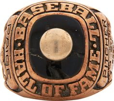 Satchel Paige 1971 Hall of Fame Ring