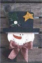 SnowBall - tole painting patterns for snowmen - Free Craft Patterns - http://www.freecraftz.com/