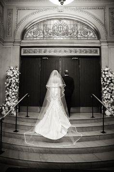 Gabrielle DeMatteis & John Keller - Carolina Herrera Bride