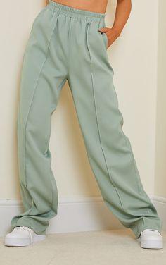 New Wardrobe, Wardrobe Ideas, Swaggy Outfits, Fresh Kicks, Pin Tucks, Off Duty, Sage, Latest Trends, Outfit Ideas