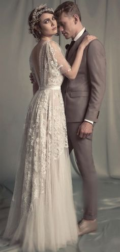 Hila Gaon 2017 Bridal Collection feminine, glamorous and authentic vintage from the 1920s wedding dress