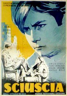 """""""Sciuscià"""" (1946). Country: Italy. Director: Vittorio De Sica. Cast: Franco Interlenghi, Rinaldo Smordoni, Annielo Mele, Bruno Ortenzi, Emilio Cigoli"""