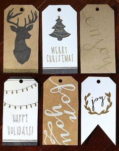 wolfmanssister:  great gift tags...