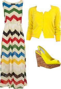#maxi #stripes #yellow