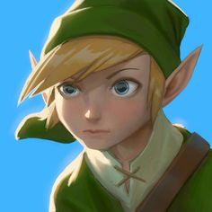 "Adam Ford on Instagram: ""Legend of Zelda painting from my tablet. #adamford #legendofzelda #loz #nintendo #retro #art #nes #videogames #digitalart #digitalpainting"""