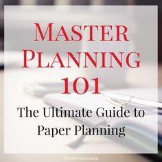 Master Planning 101: