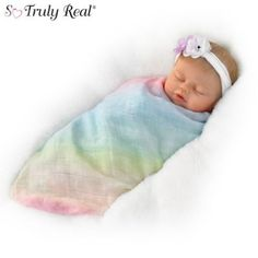 Swaddled So Sweetly Baby Doll