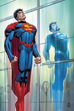 Superman #50 cover by John Romita Jr and Klaus Janson