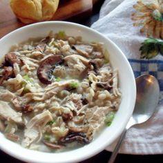 Creamy Chicken Barley Soup #WeekdaySupper