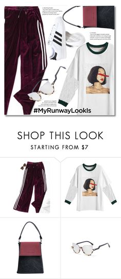 """""""My Runway Looks"""" by fshionme ❤ liked on Polyvore featuring adidas and MyRunwayLookIs"""